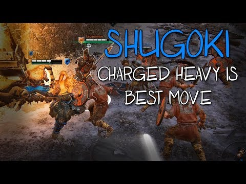 [For Honor] Shugoki's Charged Heavy Confirmed Best Move