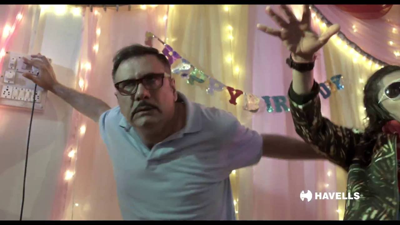 Havells RCCB and MCB - Boman Irani DJ Ad (Hindi)
