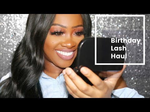 Birthday Lash Haul | For the Low from YouTube · Duration:  9 minutes 44 seconds