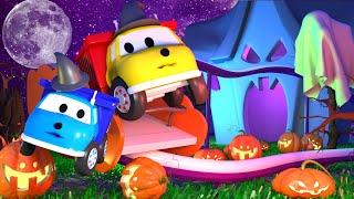 💀 🎃 Halloween 👻 Ethan macht eine Fahrt mit der Geisterbahn 🚚 Lehrreiche Cartoons für Kinder