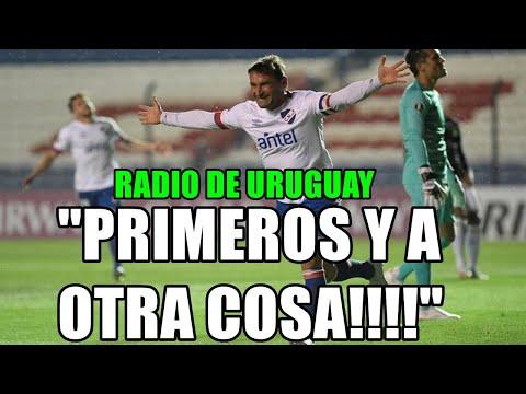 """RADIO DE URUGUAY! NACIONAL 2 ALIANZA LIMA 0 """" PRIMEROS EN EL GRUPO! Y AOTRA COSA!!!"""""""
