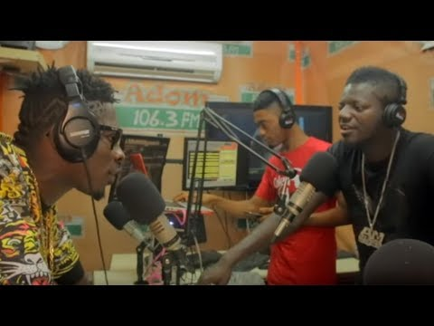 Shatta Wale's interview at Adom FM with Pope Skinny