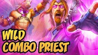 Wild Combo Priest   Saviors of Uldum   Hearthstone
