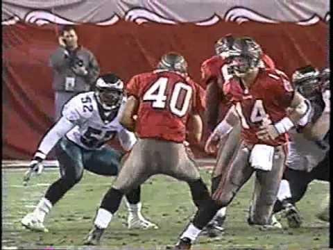 2001 Week 2 & 16 Eagles at Tampa Bay clip1