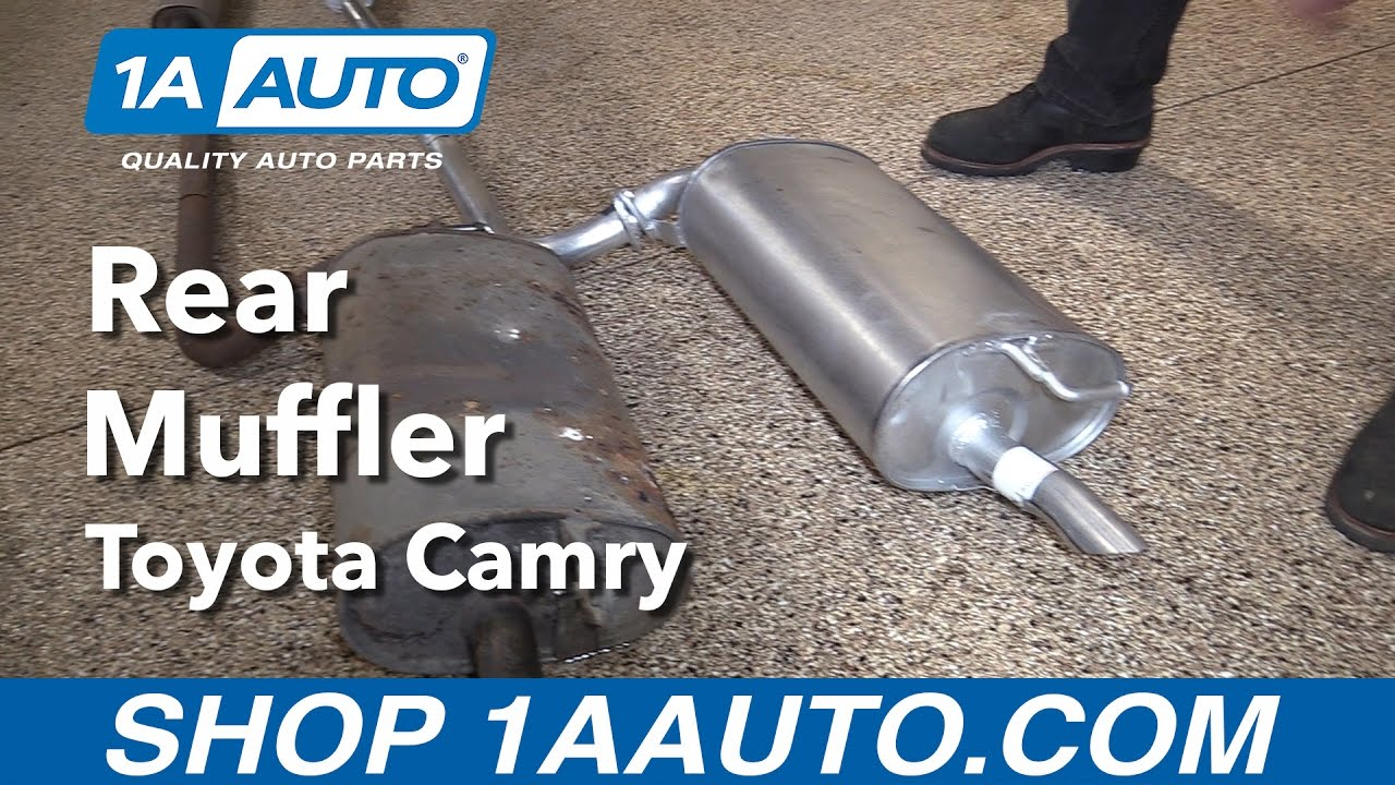 How To Replace Install Muffler 1998 Toyota Camry Buy
