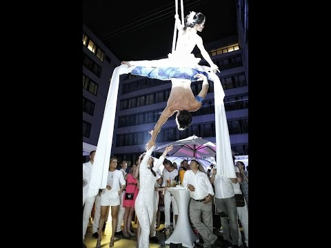 Aerial Performances at Pink&White Buddha AMICI 2015