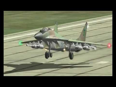 VFR Landing MiG 29S (Originally recorded with FC1.x)