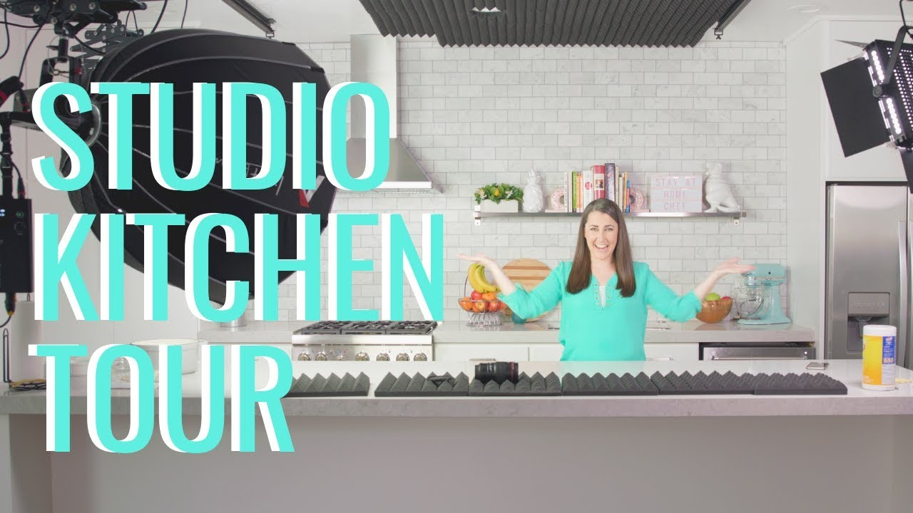 Studio Kitchen Tour Check Out My New Youtube