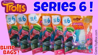 Dreamworks Trolls Series 6 Blind Bags Opening Toys Surprise Characters Names Poppy King Peppy DJ Suk