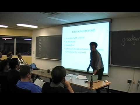 Image from Montreal Python 9 Andrew Francis Stackless Python