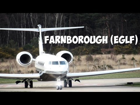 Plane Spotting At Farnborough (EGLF) ✈ [1080P HD]