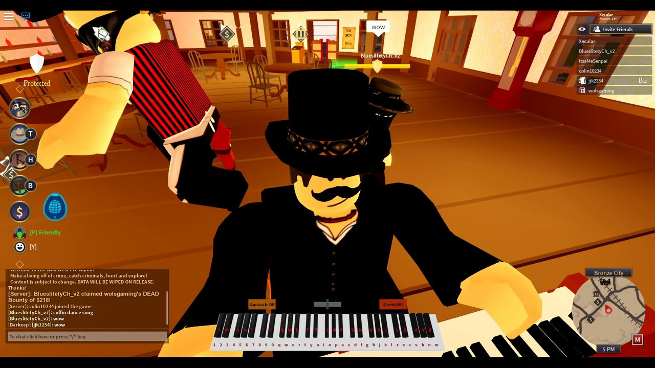 Playing Astronomia Coffin Dance On Piano Roblox Youtube