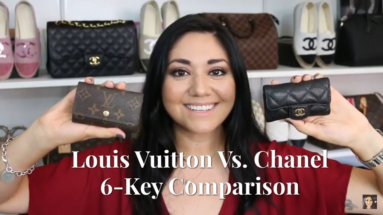 69113bae5b0 Louis Vuitton Vs. Chanel  6-Key Holder Comparison - YouTube