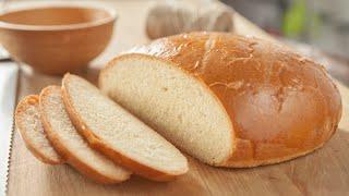 Домашний сдобный хлеб. Рецепт для духовки.