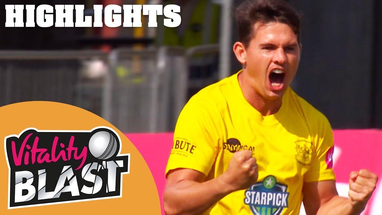 Thrilling Gloucestershire v Kent Match Goes To Last Ball | Vitality Blast 2018  - Highlights