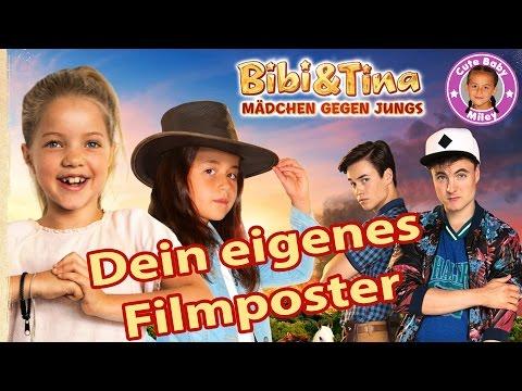 BIBI & TINA  FILMPOSTER AKTION   WERDE ZUM STAR WIE MILEY + DVD BOX GEWINNSPIEL   CuteBabyMiley