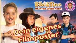 BIBI&TINA MÄDCHEN GEGEN JUNGS FILMPOSTER | Werde zum Star wie Miley+DVD BOX VERLOSUNG| CuteBabyMiley