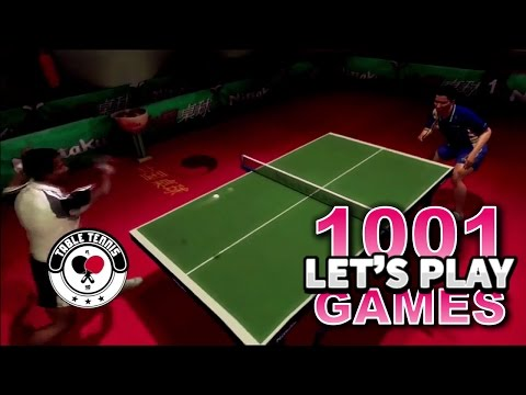 Rockstar Games Presents Table Tennis (Xbox 360) - Let's Play 1001 Games - Episode 199