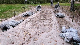 US Military Obstacle Course Training