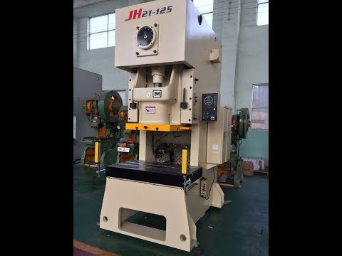Prima JH21 80ton and 45ton pneumatic press machine exported to Qatar