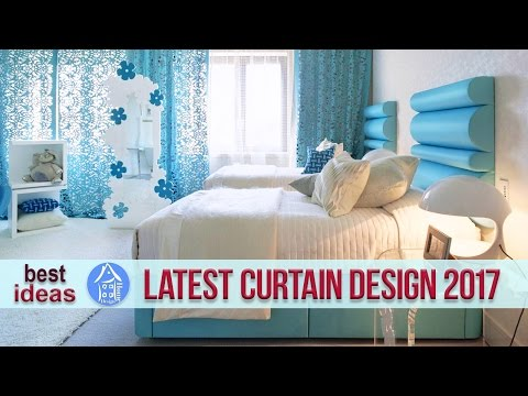 💗 Latest Curtain Designs 2017 – Amazing Stylish Bedroom Decorating Ideas