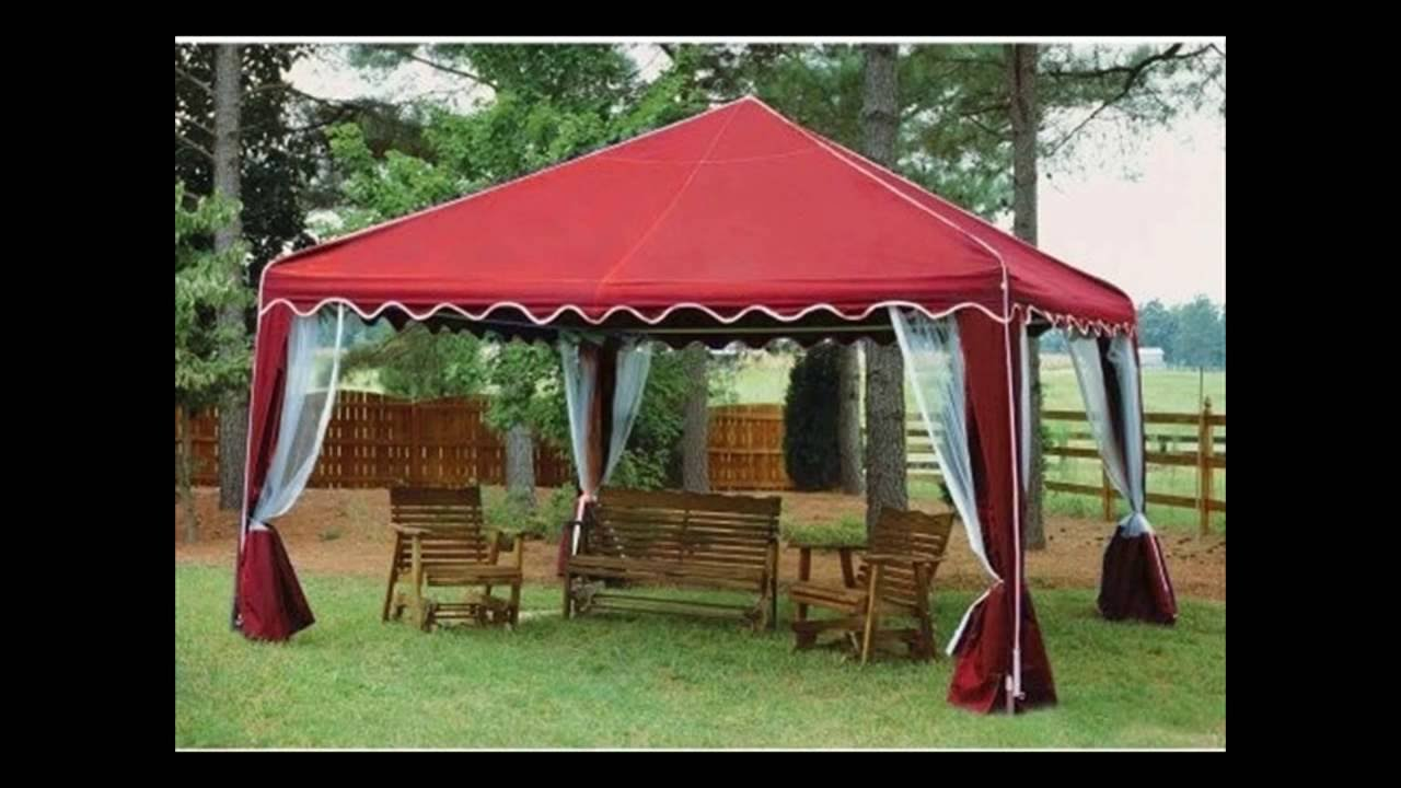 Canopies And Gazebos For Patio - YouTube