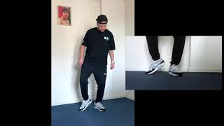 Footwork Dance Tutorial 3/4