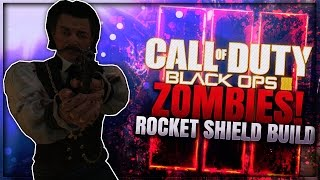 "Black Ops 3 Zombies - ""HOW TO BUILD ROCKET RIOT SHIELD"" & *ALL RIOT SHIELD PARTS* (Shadows Of Evil)"