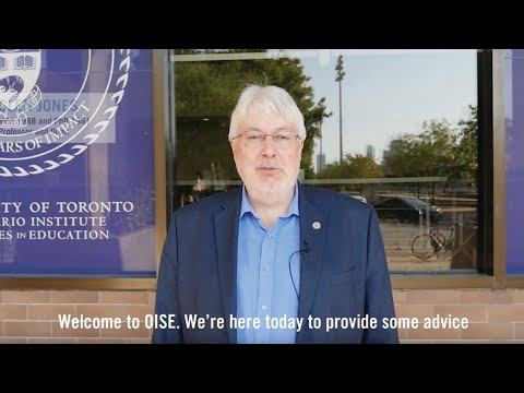 Back to School: Words of wisdom from OISE faculty, staff, students, and alumni