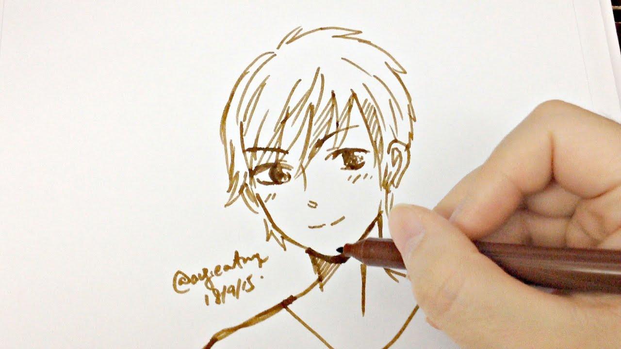 Draw A Manga Boy Youtube