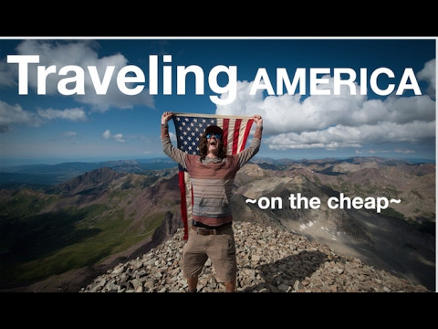 Traveling  AMERICA ~on the cheap~