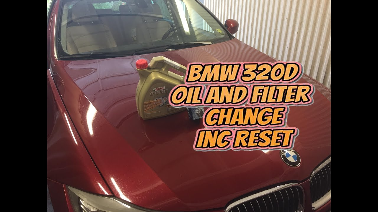 Oil Change Bmw 320 And Oil Filter Change Bmw F30 F31 320d 2012