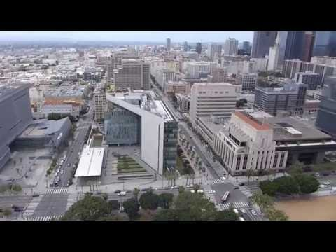 Los Angeles, California - Los Angeles City Hall Observation Deck HD (2016)