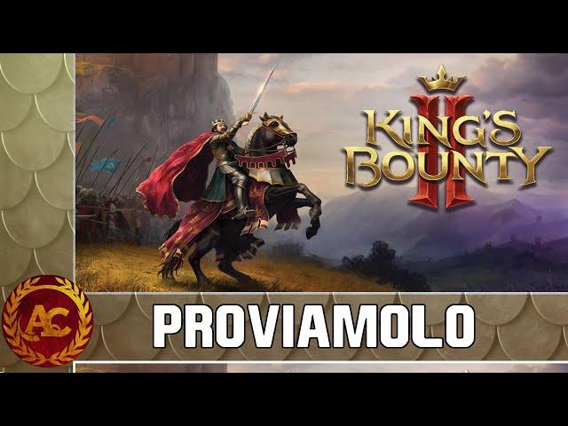 IL MIO DRAPPELLO DI PICCHIERI E... CANI? || KING'S BOUNTY II #0