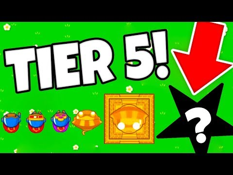 Tier 5 UPGRADES In Bloons TD Battles?! *HACKED*