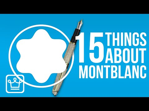 15 Things You Didn't Know About MONTBLANC