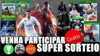 [SORTEIO] Fifa 18, Battlefield 1 e mais 5 jogos de Xbox One com CarneiroPlayTV e Black Gamer