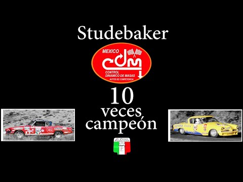 Reconstrucción del Studebaker 10 veces campeón de La Carrera Panamericana