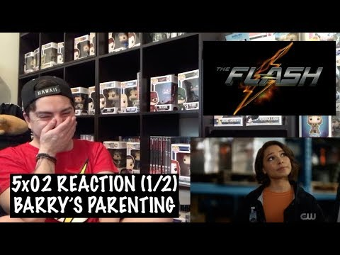 THE FLASH - 5x02 'BLOCKED' REACTION (1/2)