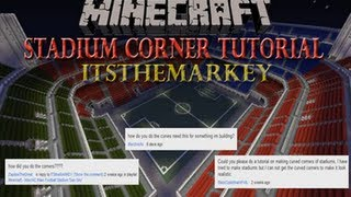 Minecraft: Tutorial - Stadium Curved Corners
