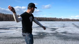 Skipping Rocks One Last Time - [Living In Alaska 147]