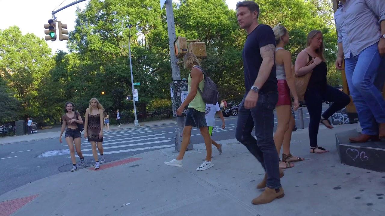 [4k] New York Walk Around East Village / Lower East Side