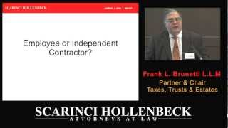 Part  VI Tax Issues That Impact Your Wealth: Independent Contractor