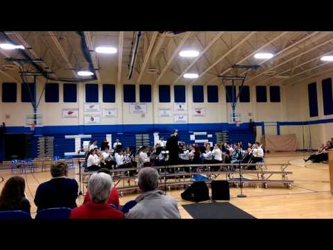 Inland Lakes High School band - Star Wars