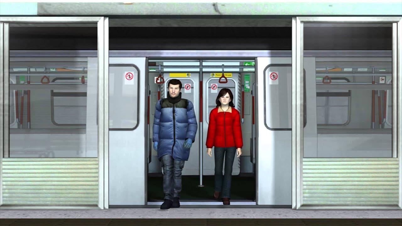 & New York MTA subway needs safety platform doors - YouTube