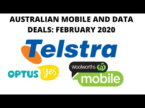 Australia Mobile And Data Deals: February 2020 (Telstra, Optus, Woolworths)