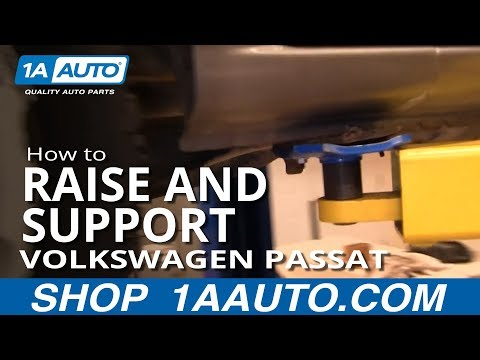 How to Raise and Support 05-10 VW Passat