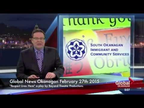 Beyond Theatre Productions on Global News Okanagan