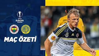 MAÇ ÖZETİ: Fenerbahçe 2-0 AEL Limassol (2012-13 UEFA Avrupa Ligi)