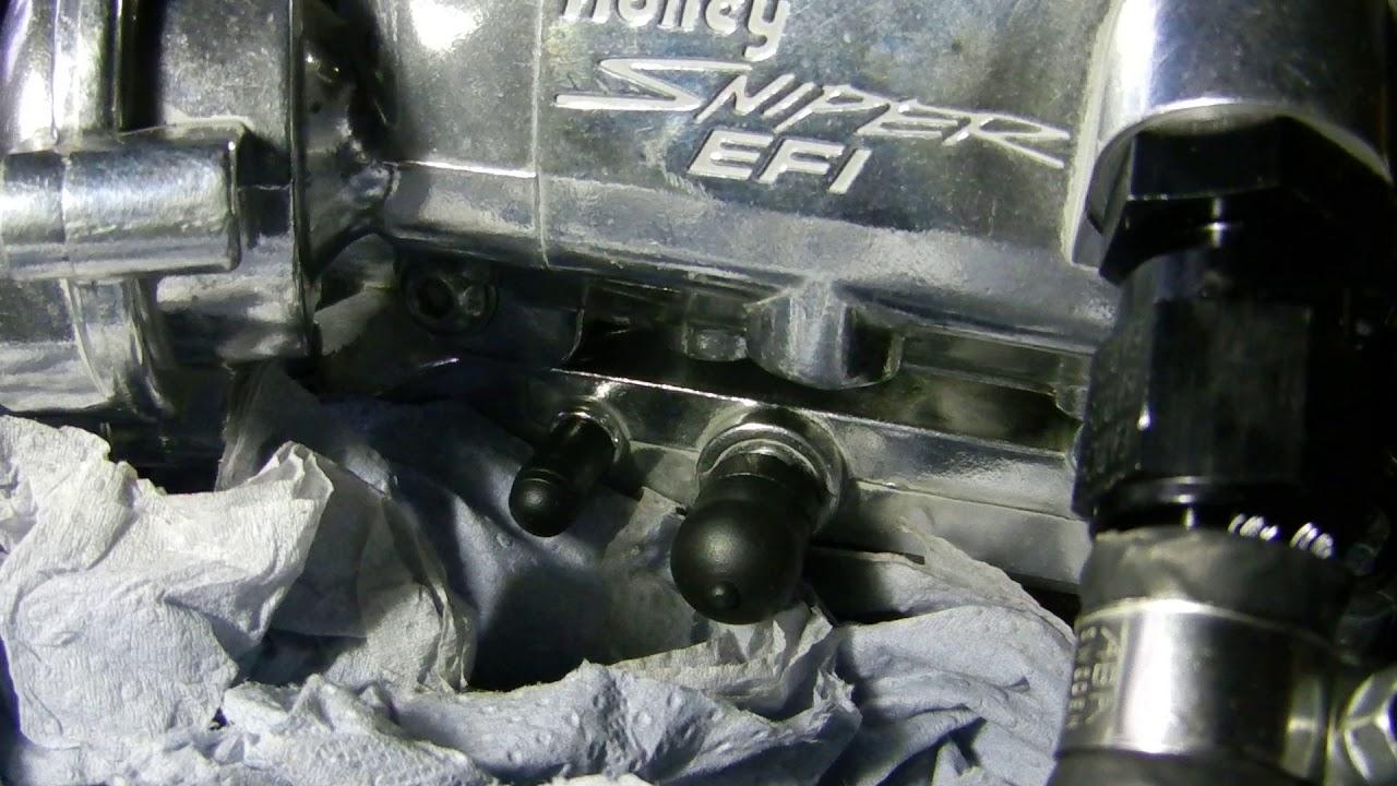 Holley Sniper 2300 2 barrel EFI  Problem after install